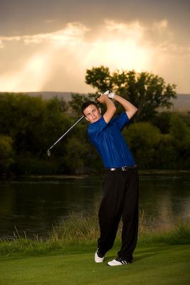 Brett swinging
