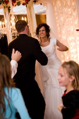 Kirsten and Jordan dancing